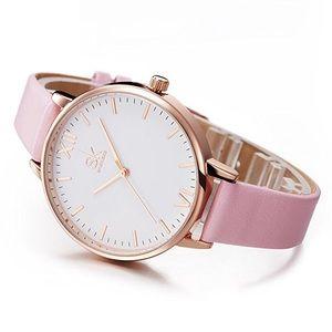 • Pink Wristwatch